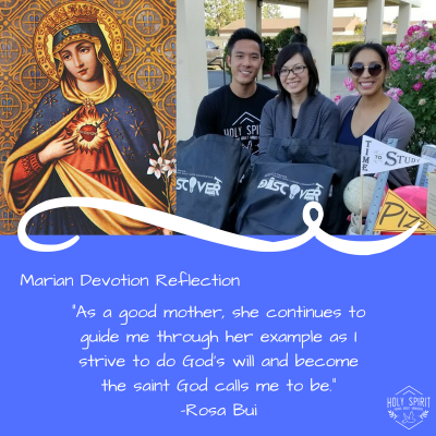 Rosa's Reflection on Marian Devotion